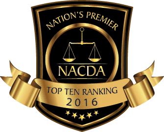 NACDA Top Ten Ranking 2016